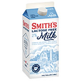 Smiths Lactose Free 2 Percent Milk