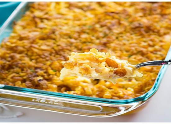 Cheddar Hash Brown Casserole smiths foods