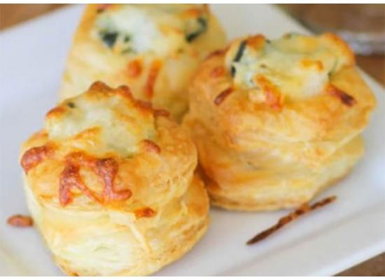 Cheesy Artichoke Dip Puffs Recipe Smiths Foods
