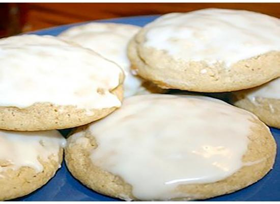 Eggnog Cookies smiths foods
