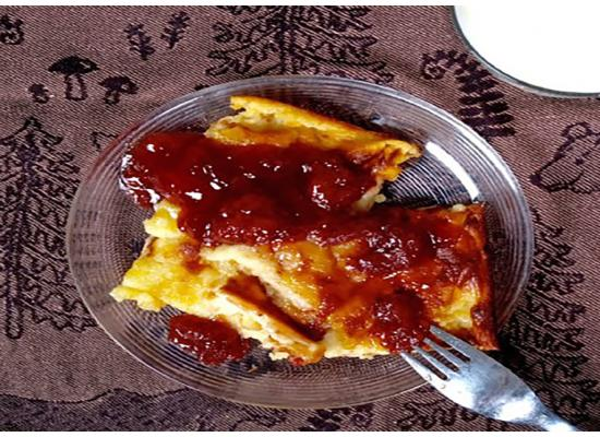 Finnish Oven Pancake with Lingonberry Jam smiths foods