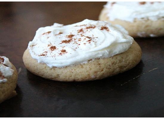 Frosted Eggnog Cookies smiths foods