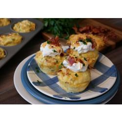 Chip Dip Mashed Potato Cups