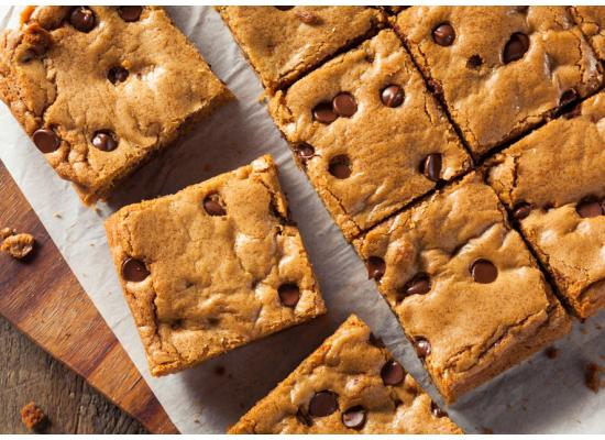 smiths whole wheat almond butter blondies recipe